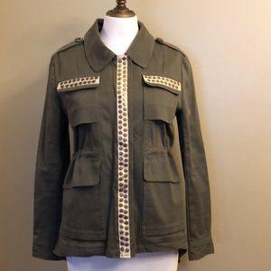Women's military inspired jacket